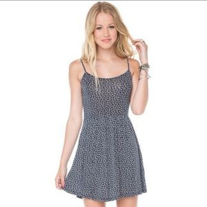 brandy melville blue and white dress